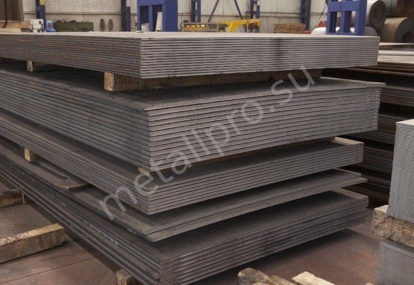 листовая конструкционная углеродистая сталь