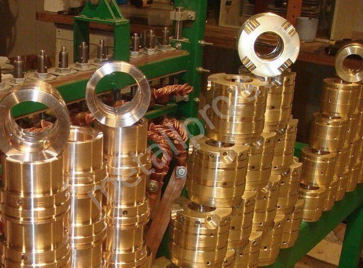 производство втулок из бронзы